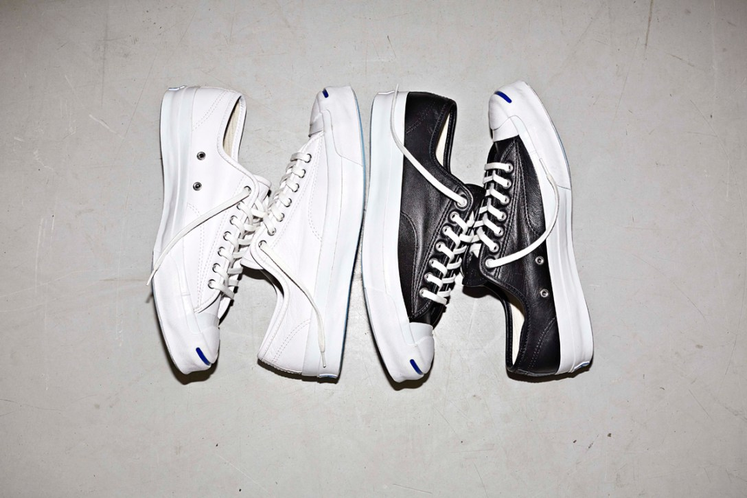 Debuting Converse's New Jack Purcell Signature Leather