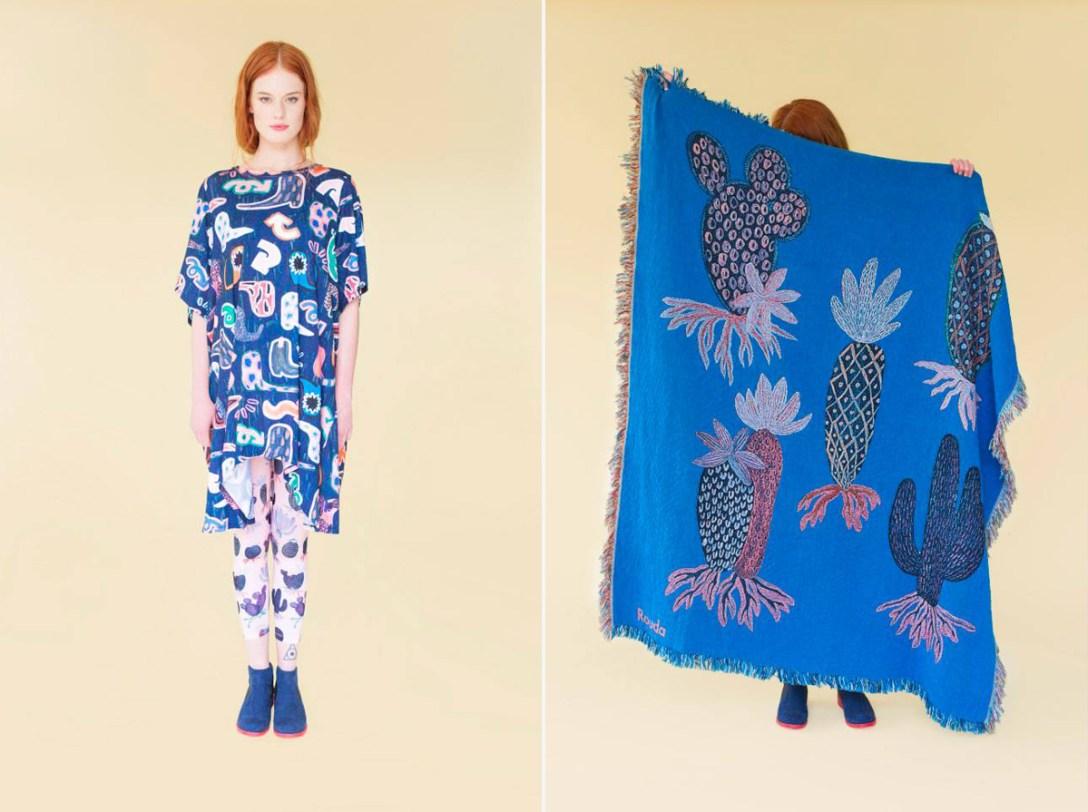 Sketches to Textiles: Rouda