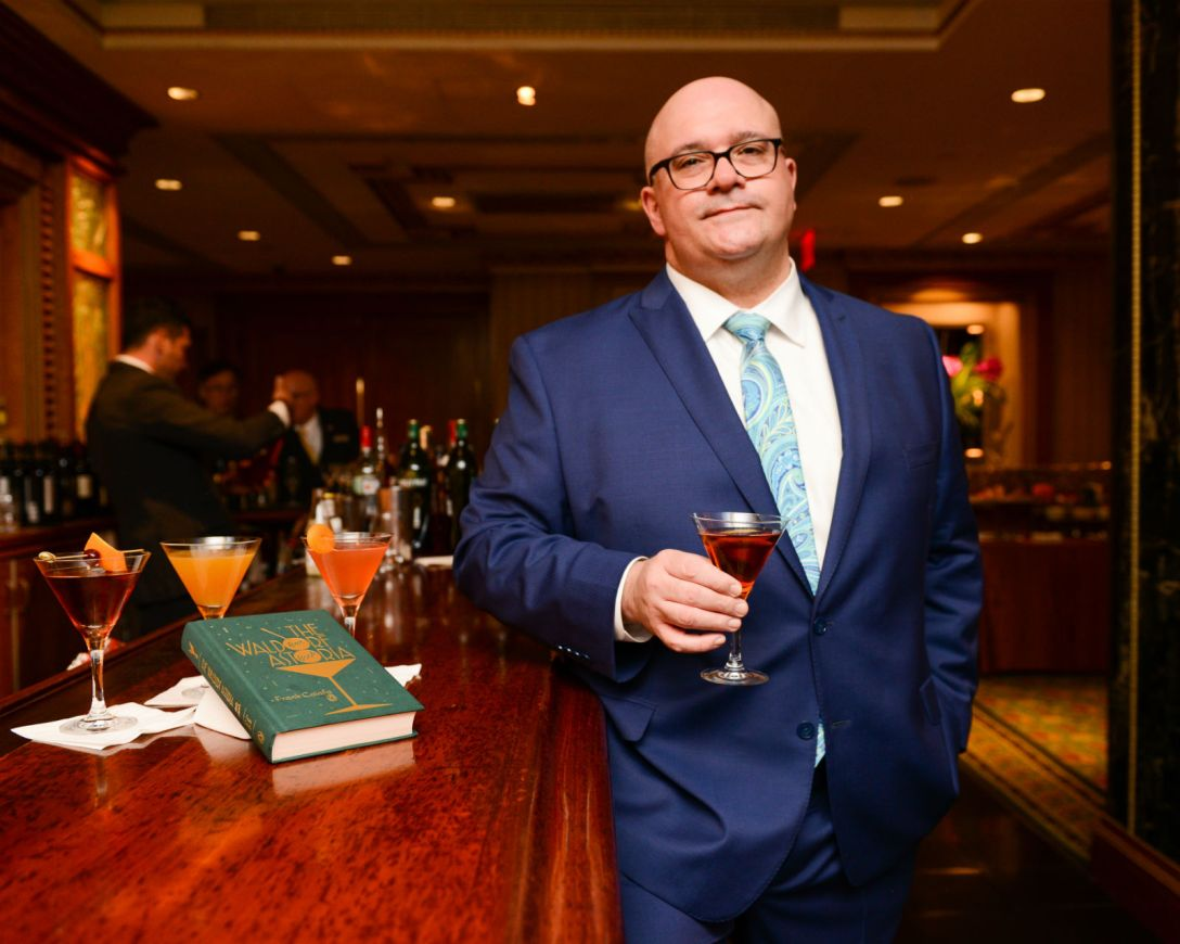 Behind The Waldorf Astoria Bar Book's Brand New Update