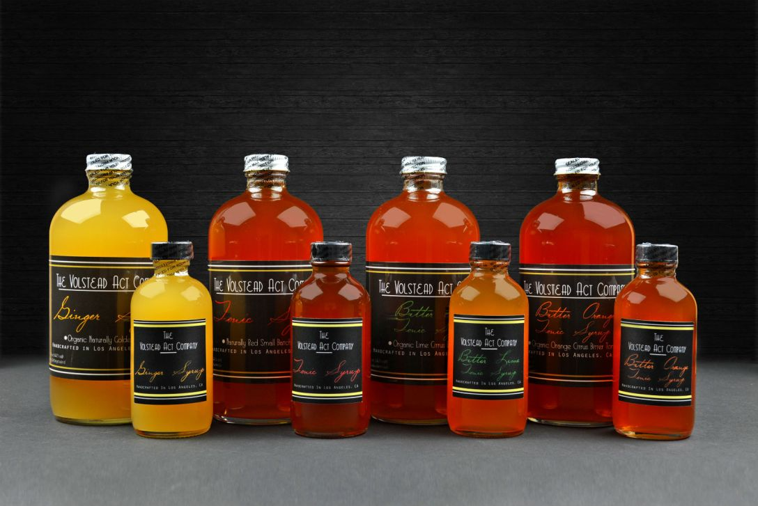 The Volstead Act Company's Pre-Prohibition-Inspired Cocktail Syrups