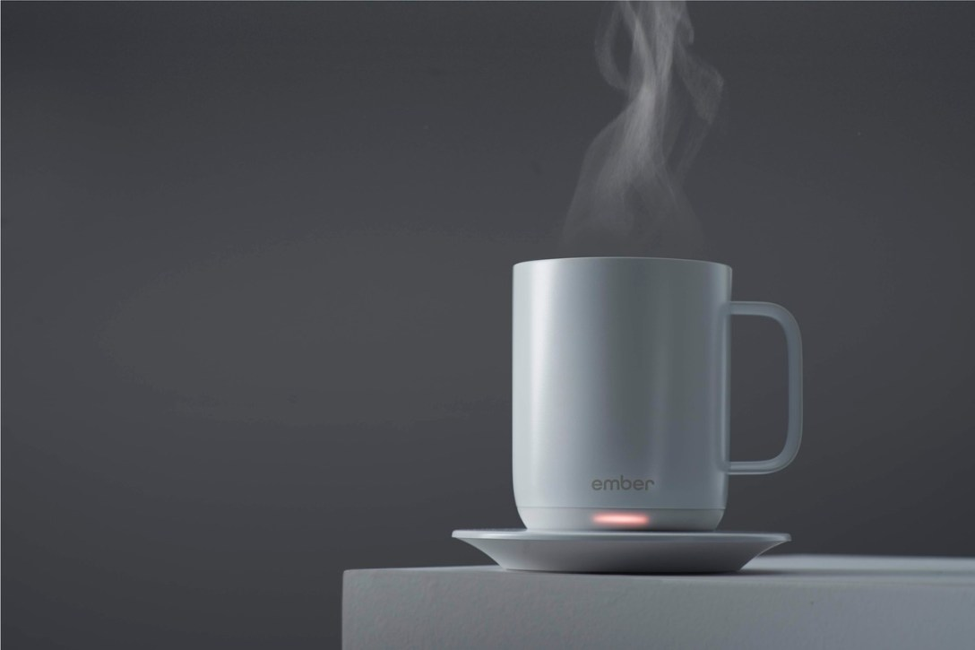 The World's First Ceramic Mug With Temperature Control, From