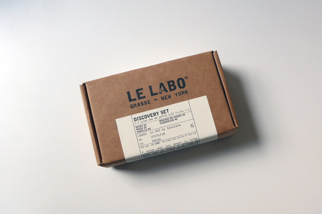 Le Labo's Limited Edition Discovery Set