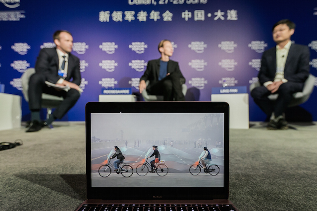 smog-vrije fiets