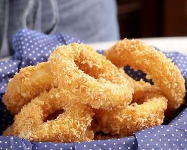 10 Receitas de Anéis de Cebola que você vai adorar experimentar