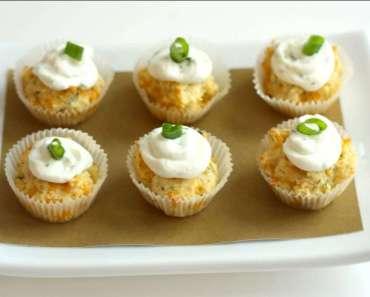 Receita de Cupcake de azeitona