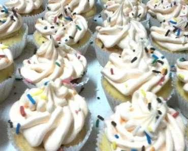 Receita de Massa de cupcake