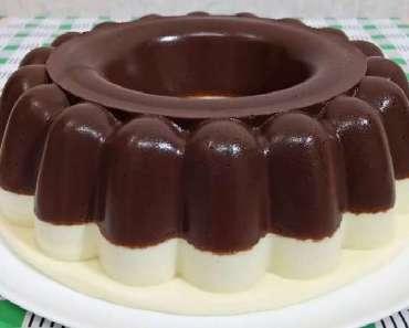 Receita de Pudim de Chocolate com Leite Ninho