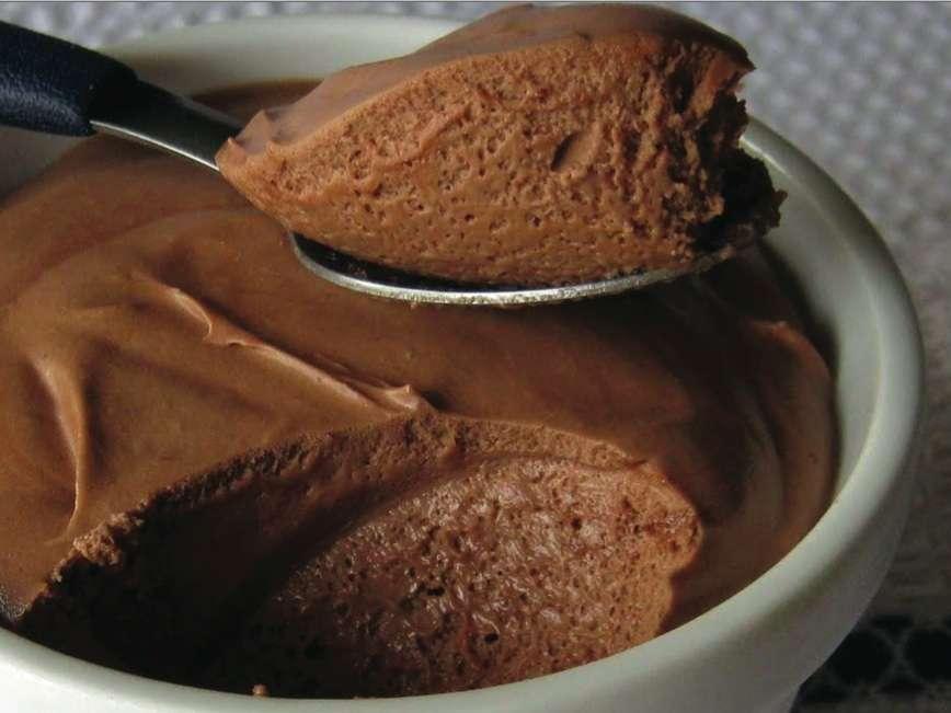 Receita de Mousse de chocolate em pó Simples e Delicioso