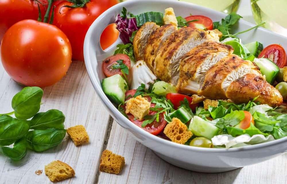 Receita de Salada LowCarb Asiática