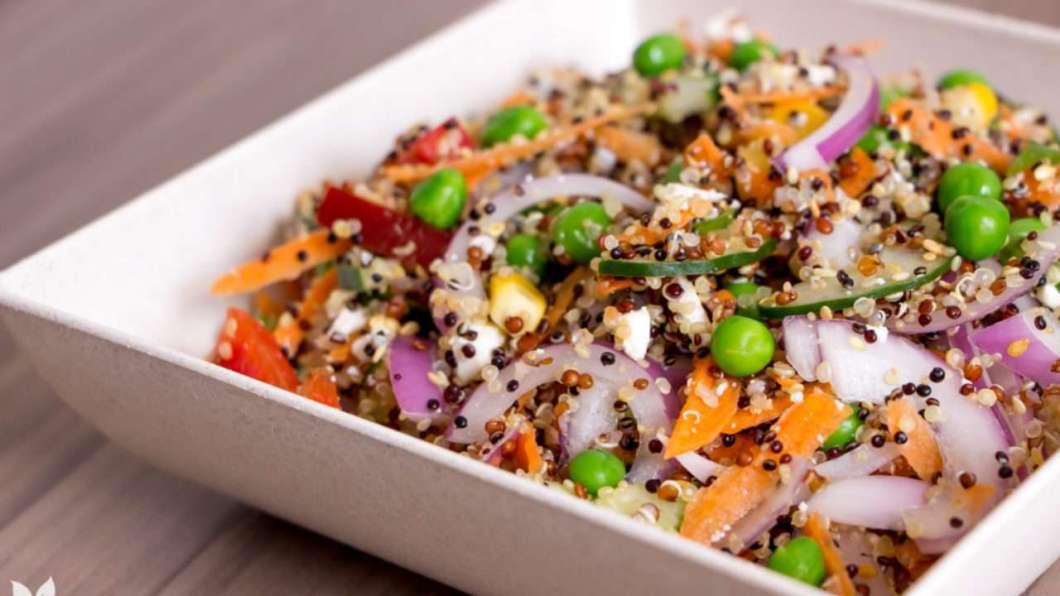 Receita de Salada de Quinoa deliciosa e Bonita