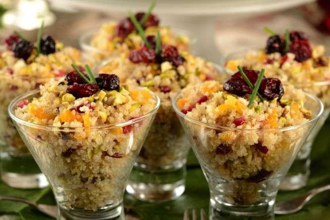 Receita de Salada de quinoa com legumes