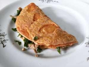 Panqueca Salgada FIT e Low Carb   As 10 Melhores Receitas de Panqueca para comer sem Abandonar sua Dieta e manter sua Saúde