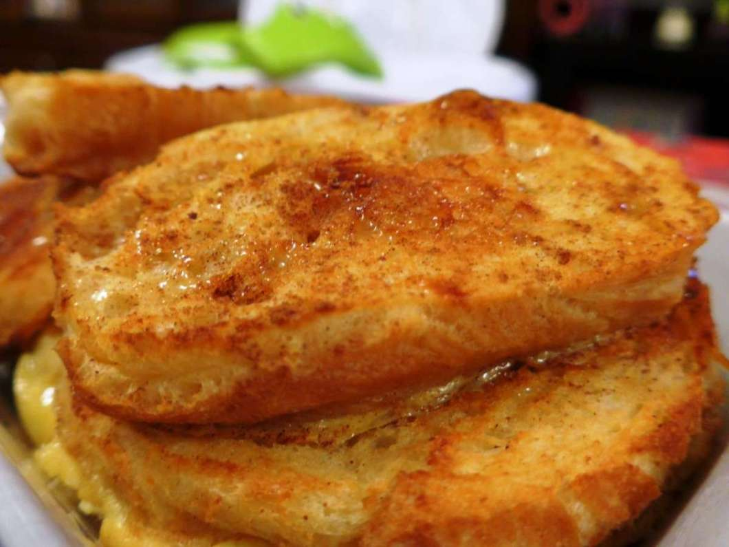 Receita de Rabanadas saudáveis no forno