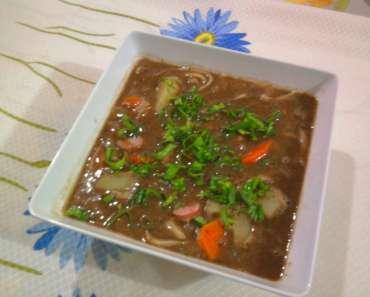Receita de Sopa de Feijão da Mamãe