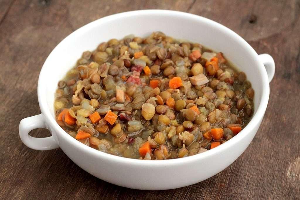 Receita de lentilha nutritiva e saborosa para Ano Novo