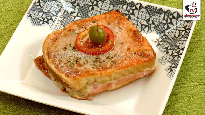 Receita Simples de Sanduíche de Forno