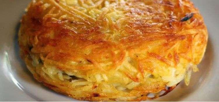 Receita de Batata Rosti recheada com provolone