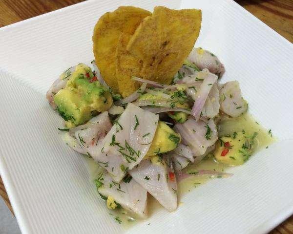 Receita de Ceviche de tilápia com abacate