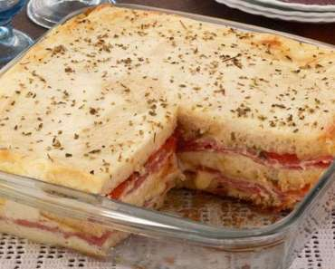 Receita de Lanchão de Torta de Sanduíche