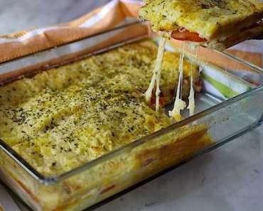 Receita de Sanduíche de forno para Lanche