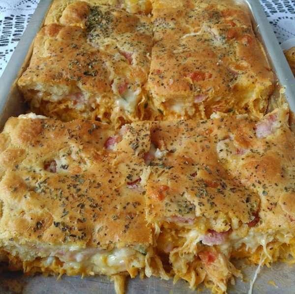 Receita de Torta de Frango Rápida
