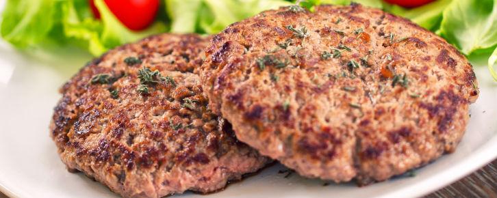 Receita de hambúrguer caseiro Fácil
