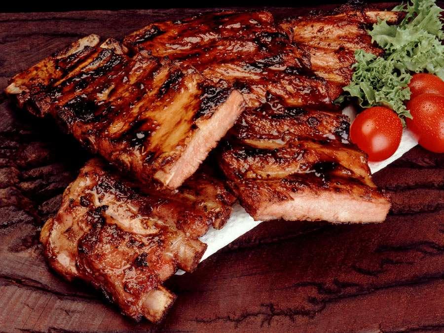 Receita de Costelinha de Porco no Forno da Vovô