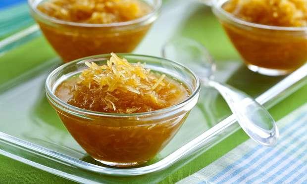 Receita de Doce de laranja com coco