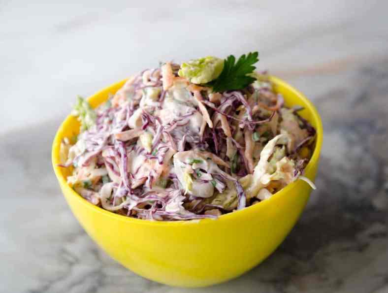 Receita de Salada de repolho com maionese Ana Maria Braga