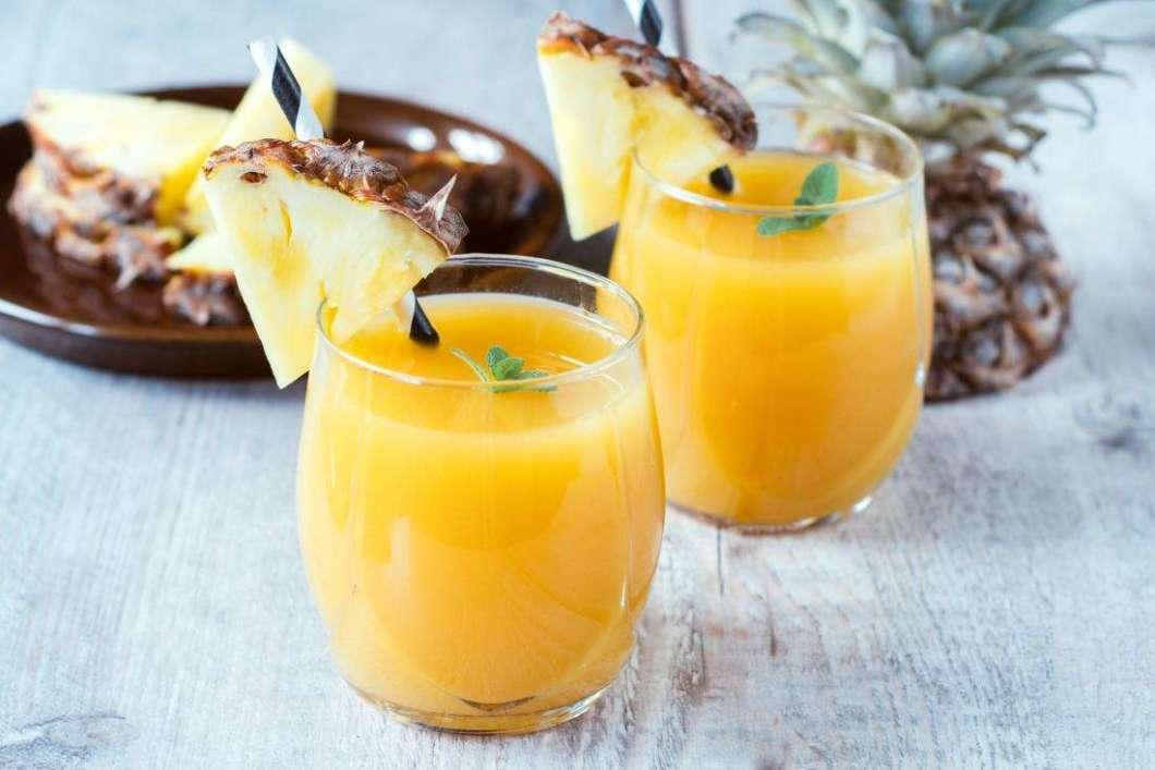 Receita de Suco de abacaxi especial