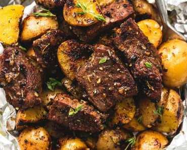 Receita de Carne Assada com Batata
