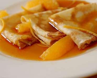 Receita de Crepe suzette Francês