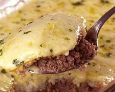 Receita de Torta de carne moída com batata