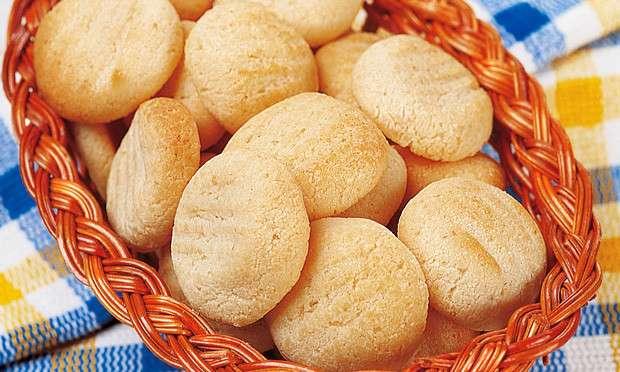 Receita de Biscoito de queijo Português