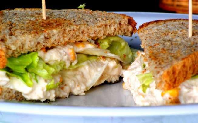 Receita de sanduiches saudaveis e Fáceis da Vovô