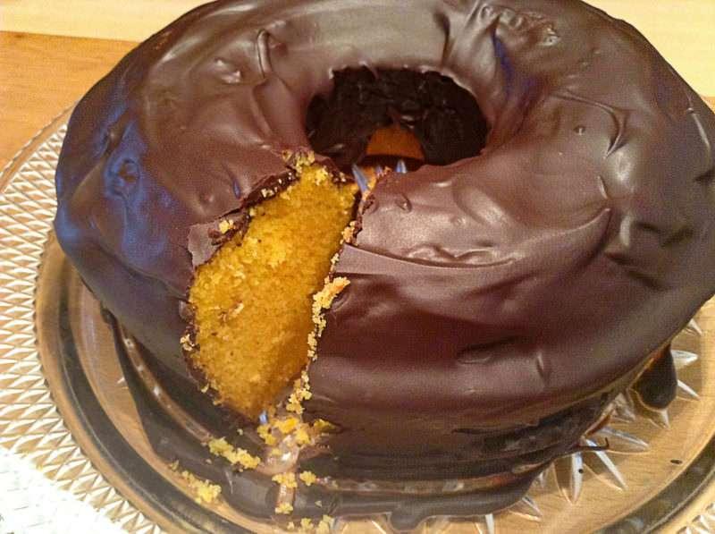 Receita Bolo de Cenoura com cobertura de Chocolate