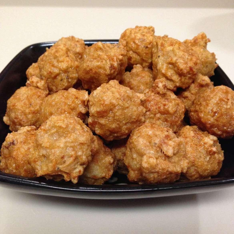 Receita de Almôndega de carne Fritas no forno