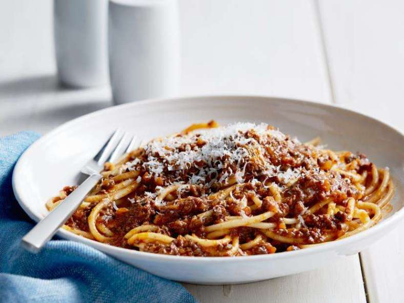 Receita de Esparguete à Bolonhesa Original