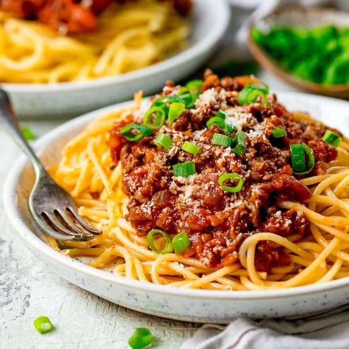 Receita de Esparguete à bolonhesa Cremosa