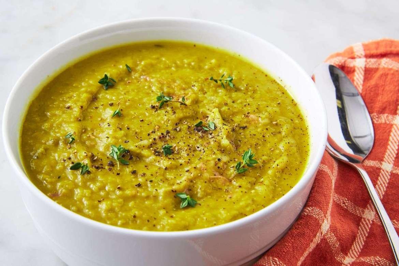 Receita de Sopa de ervilha Ana Maria Braga