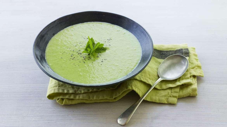 Receita de Sopa de ervilha com croutons de café