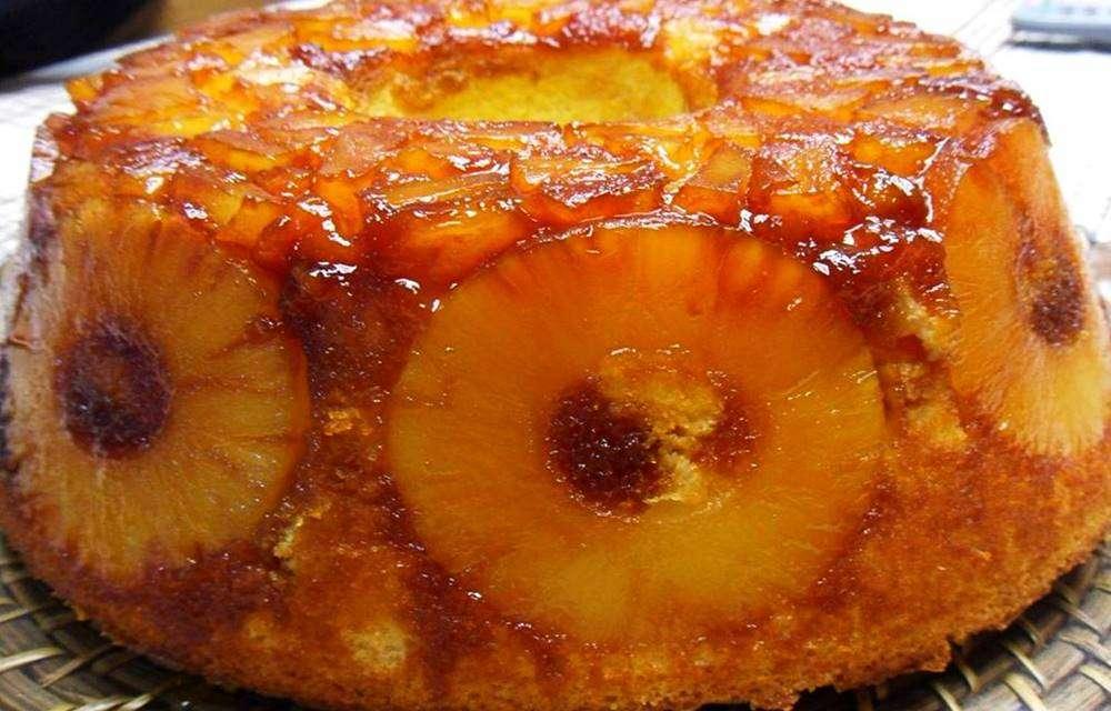 Receita de torta de abacaxi da Rainha da Cocada