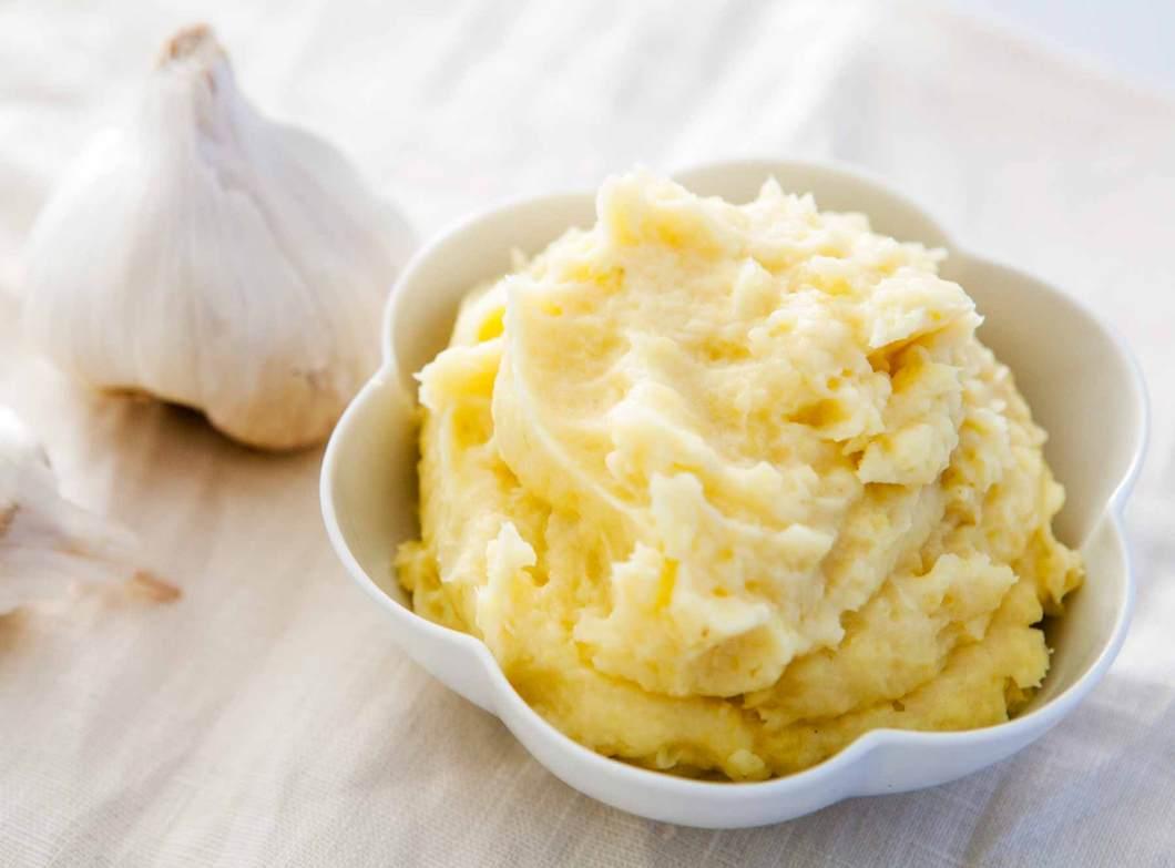 Receita de Purê de Batata sem Margarina