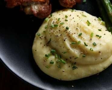 Receita de Purê de batata simples e rápido