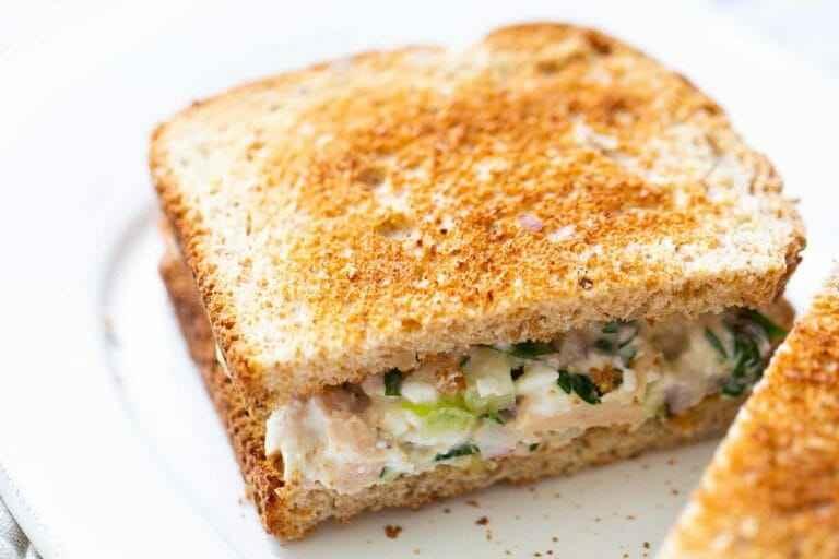 Receita de Sanduíche Natural de frango com queijo