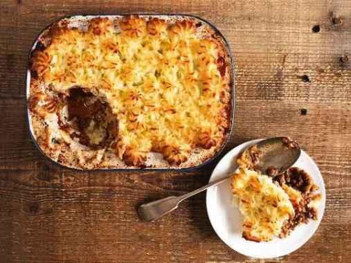 Receita de Escondidinho de Carne moída com Batatas Gratinadas