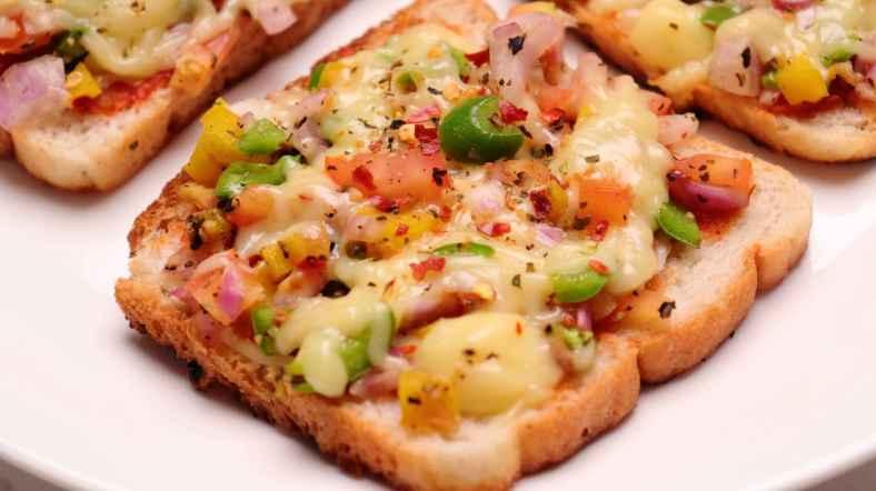 Receita de Pizza de Pão de Forma da Coolícias