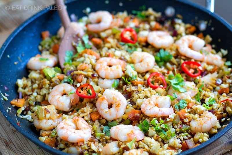 Receita de Salada de Arroz com Camarão