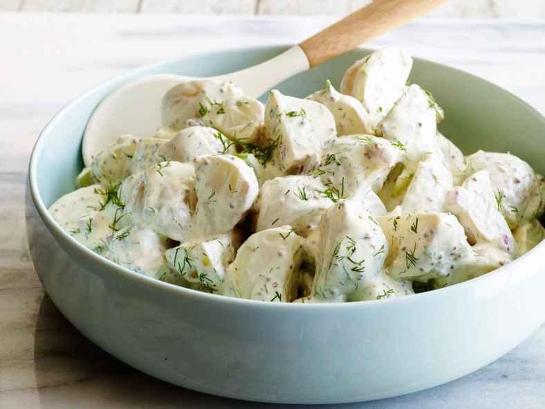 Receita de Salada de Batata com Maionese