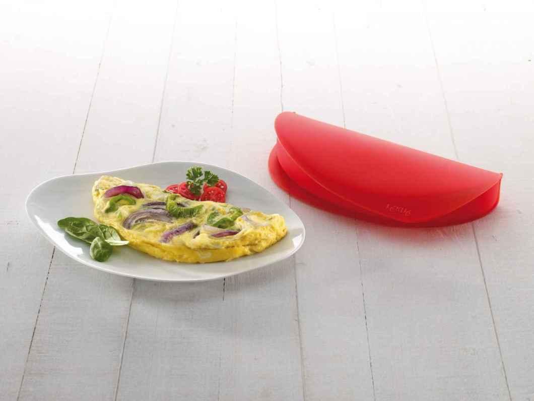 Receita de omelete de microondas Saboroso